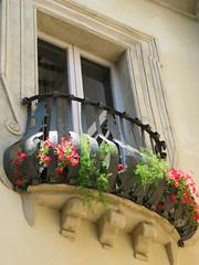 Little balcony (FotoBlu) Tags: flowers window balcony umbria thecontinuum 2for2