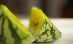 refreshing (gabo_) Tags: summer food macro green yellow yummy sweet seeds watermelon crisp 60mm melon refreshing slices sandia yellowwatermelon fruitsthatremindmeofsummer