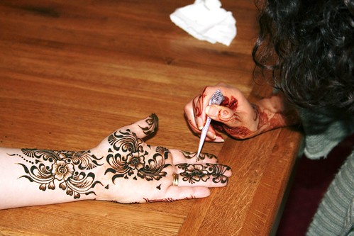 At work by Love Mehndi.