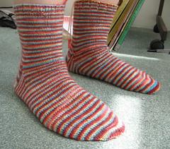 Socks... in 3-D!!!