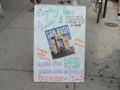 Sam Bush Live at Bart