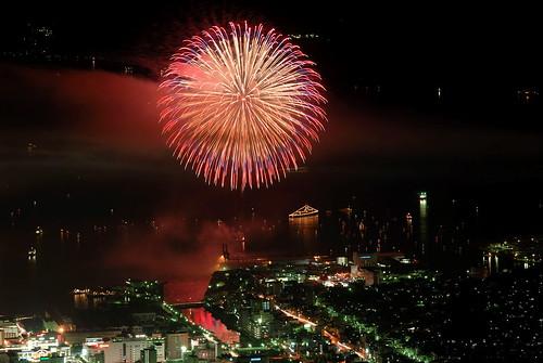 Kure fireworks festival 2006