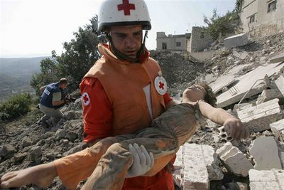why? Lebanon 2006, AP photo