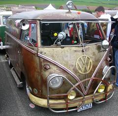 Rust is the new black (MGSpiller) Tags: show car vw volkswagen rust shiny shine newquay 2006 van split camper campervan runtothesun shownshine rtts