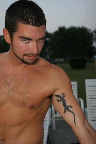 Tribal lizard tattoo, Gecko lizard tattoos, Lizard foot tattoos