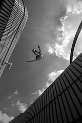 Fly Boy (BombDog) Tags: street london liverpool photography jump power spirit gymnast freerunning acrobat strength parkour fearless traceur jonlucas danielilabaca jonathanlucas parkourphoto parkourphotography