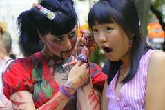 DSC_0850 (hc916) Tags: toronto zombie queenstreet zombiewalk torontocatrescue