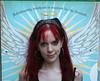 Lilith (drewbic) Tags: newyorkcity red girl hair streetlife runaway lilith borrowedcamera interestingness7 i500 exploretopten thanksfabianforlettingmesnagyourcamerawhenishouldhavebeencarryingmineagain