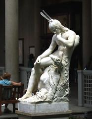 MMA - Hiawatha Img_1401 (Lanterna) Tags: sculpture art museum figure americana contemplative lanterna metmuseum hiawatha romanticism stgaudens