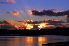 Orewa sunset (EssjayNZ) Tags: ocean sunset sea newzealand sky reflection beach water tag3 taggedout clouds reflections golden interestingness bravo tag2 tag1 topv1111 interestingness1 bestviewedlarge 2006 50100fav rays essjaynz beams orewa interestingness6 999v9f 50faves 20faves taken2006 i500 1500v60f 1000v40f specnature 5hits 25faves sarahmacmillan