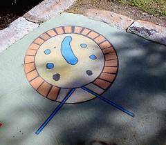 Footpath Art (yewenyi) Tags: streetart art geotagged pavement australia ground nsw newsouthwales aus footpath pc2116 oceania auspctagged pctagged rydalmere johnstreetwarf geo:lat=33817761 geo:lon=151043767