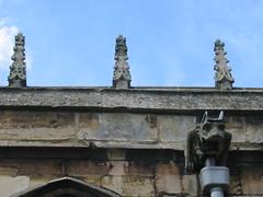 pinnacles (historyanorak) Tags: detail history church architecture leicestershire details gargoyle ecclesiastical pinnacle stmarys midlands bottesford parishchurch churcharchitecture historyanorak thehistoryanorak churchdetails churchybit churchybits