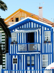 Traditional houses (pedrosimoes7) Tags: blue portugal cpt aveiro thecontinuum costanova 123faves traditionalhouses ilustrarportugal serieouro