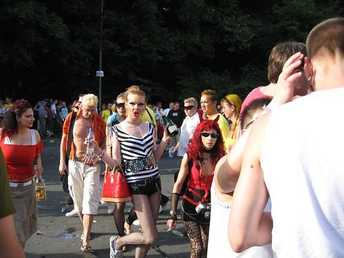 Drunken Love Wench at Love Parade 2006
