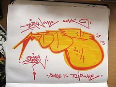 blackbook session 1 (Flip-1 SBA) Tags: graffiti sketch very graf blackbook