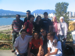 Another pic of Kits Beach (peaceittogether2006) Tags: set first nir