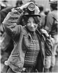 Brenda Ward, U.S. Steel no. 50 Mine, Pinnacle, Wyoming County, West Virginia, 1982 (iLoveMountains.org) Tags: mountain energy top main mining wv westvirginia coal removal pinnacle miners mountaintop wyomingcounty coalmining mountainpeople c317