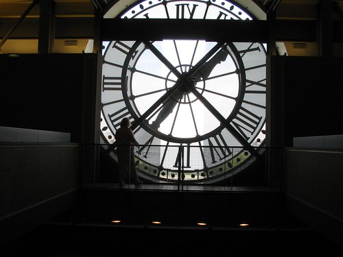 Musee d'Orsay Clock Window