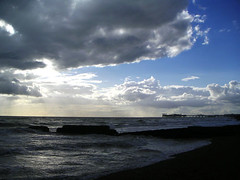 Palace Pier (George Ryegold) Tags: sea sky clouds pier brighton palacepier