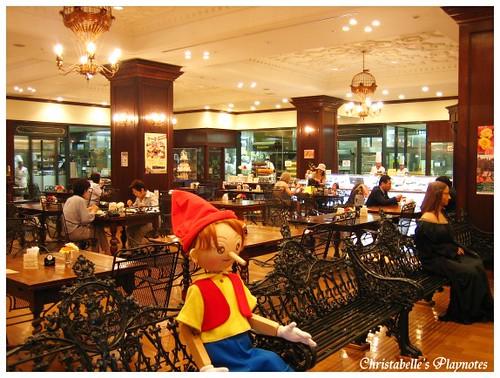 巧克力工廠下午茶餐廳