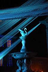 Guebwiller Noël bleu 2016 (Terra Pixelis) Tags: guebwiller vortex bleu nuit tissé art rognes noël notredame 2016 nikon d810