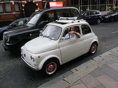 A charming fella that drove around in a Fiat 500!