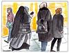 Op het station / At the station (h e r m a n) Tags: herman illustratie tekening drawing illustration dagboek diary journal station nederlandsespoorwegen ns utrecht vrouwen women brains head cover bedekken hoofddoek hoofddoekje headscarve scarve hoofd hair haar