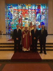 Senior seminarians and Bishop Perisco - September 2016