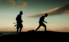 Follow the ghost (Herbert Seiffert. http://deniart.jimdo.com/) Tags: sea spain ghost benissa mediterranenan