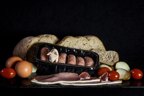 Garnish with a twist: Full English Breakfast