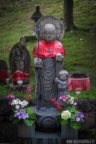 Nara. Posąg modlitewny