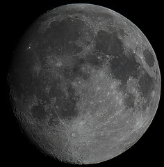 Night Moon 27th August 2015 (David Blanchflower) Tags: sky moon night canon solar space system telescope astrophotography astronomy lunar gibbous waxing skywatcher universetoday