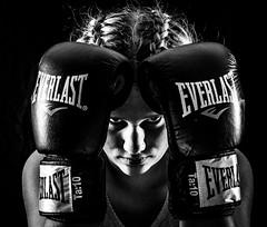 Thai boxer (madmtbmax) Tags: portrait blackandwhite bw white black sports sport hands nikon young gloves thai boxer sw boxing athlete everlast schwarzweiss weiss kickboxing schwaz thaiboxing svartvit muotokuva sportler urheilu sportportrait d700 sportphoto sportfotograf