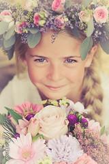 blossom fairy (mirecmu) Tags: portrait girl nikon blossom 85mm f18 d7100
