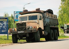 KrAZ-256   727  45 (zauralec) Tags: truk 256  kraz kurgan    kraz256
