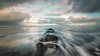 Moving Through Space and Time (Nick Twyford) Tags: newzealand seascape clouds blacksand rocks waves nz northisland westcoast taranaki earlymorninglight tongaporutu leefilters nikond800 lee09nd lee06gndsoft nikkor160350mmf40 rapanuistream