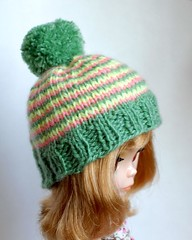 Blythe knitted hat