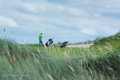 Golfer on the Fairway at Trump Doonbeg Golf Course (bob golden) Tags: ireland golf course fairway trump links golfer doonbeg