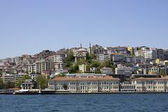 Cihangir Mosque (kaizerdar) Tags: sea landscape cityscape istanbul mosque mansion cami goldenhorn manzara camii pera beyoğlu cihangir haliç singledome cihangircami