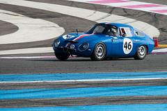 ALFA ROMEO GIULIA TZ1 RITTWEGER / HANKOCK 1964 (jmmuggianu) Tags: alfa romeo circuit rosso giulia 1964 castellet trofeo nastro tz1 rittweger hankock paulricardhttt 10000tours