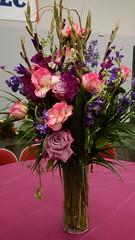 Flower Arrangements, Repast #2 (artistmac) Tags: city flowers roses urban plants chicago illinois wake flowerarrangements il funeral tribute carnations generalassembly staterepresentative repast esthergolar