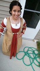 rostonteaparty: Throwing a Medieval feast at work tomorrow. Haha. I am excited. Garb Week! (medievalpoc) Tags: for sca creative medieval week society anachronism garb