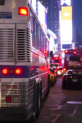 Bus - Times Square - New York City (jack.mihlenstedt) Tags: new york city nyc newyork bus night timessquare