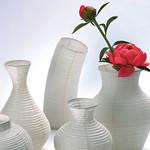和紙の花器カバーの写真