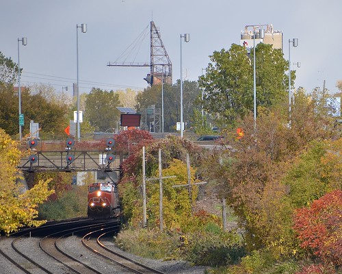 CN 401 on the other side of the tunnel
