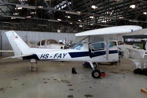 HS-FAY Cessna 152 II Hua Hin 14Oct15 (Jean Marc Braun)
