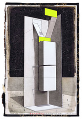 Stages of Solitude - The Bureau (Gideon Kiefer) Tags: art pencil ink gideon drawing devil bookcover gouache kiefer fluo geukens gideonkiefer geukensdevil
