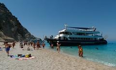Egremni Beach (ForceMajeureMontenegro) Tags: greece griechenland egremni lefkada grka