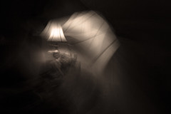 Light Trails (Photigrapher) Tags: old light motion black blur night dark painting movement nikon long exposure antique trails 3200 d3200