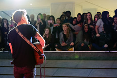 Scott Helman and fans, FCP Toronto (Richard Wintle) Tags: musician music toronto ontario canada downtown guitar financialdistrict singer onstage guitarist songwriter fcp firstcanadianplace waterfallstage scotthelman